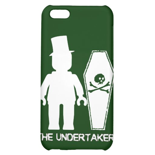 The Undertaker by Customise My Minifig iPhone 5C Case