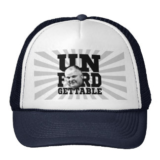The Unforgettable Mayor Rob Ford of Toronto Trucker Hats
