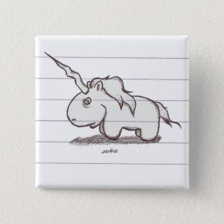 the unicorn 2 inch square button