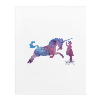 The Unicorn Acrylic Wall Art