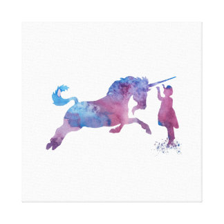 The Unicorn Canvas Print