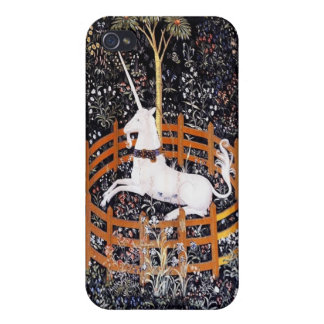 The Unicorn in Captivity iPhone 4 Cover