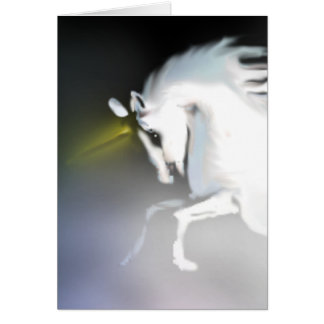 The Unicorn in the Mist Greeting Card