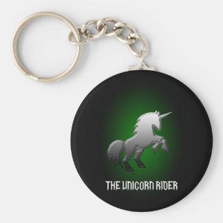 The Unicorn Rider key fob