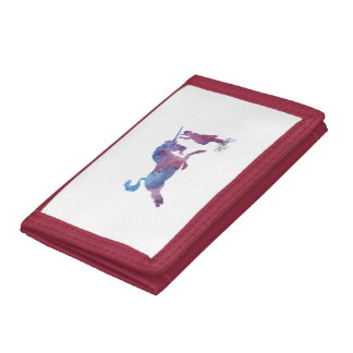 The Unicorn Trifold Wallets