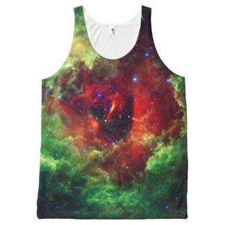 The Unicorns Rose Rosette Nebula All-Over-Print Tank Top