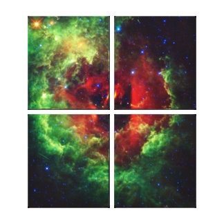 The Unicorns Rose Rosette Nebula Canvas Print