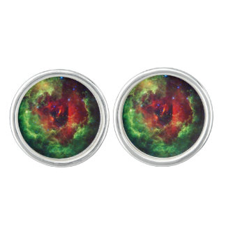 The Unicorns Rose Rosette Nebula Cufflinks