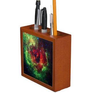 The Unicorns Rose Rosette Nebula Desk Organizer