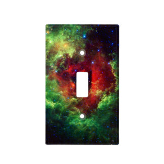 The Unicorns Rose Rosette Nebula Light Switch Cover