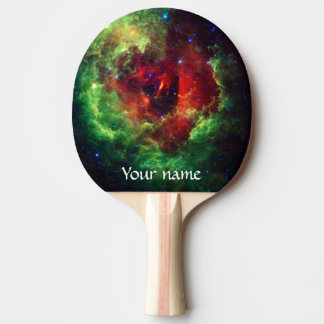 The Unicorns Rose Rosette Nebula Ping Pong Paddle