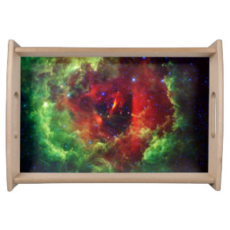 The Unicorns Rose Rosette Nebula Serving Tray