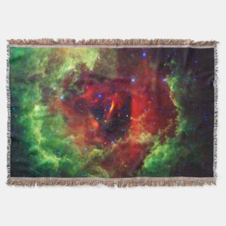 The Unicorns Rose Rosette Nebula Throw Blanket
