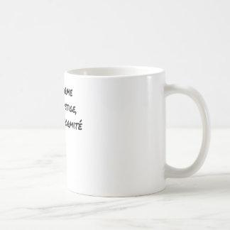THE UNIFORM WITH PRESTIGE, NOT UNIFORMITY COFFEE MUG
