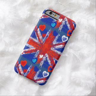 The union flag, Union Jack,UK flag Barely There iPhone 6 Case