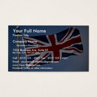 The Union Jack, England Business Card