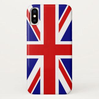 The Union Jack Flag of the UK - United Kingdom iPhone X Case
