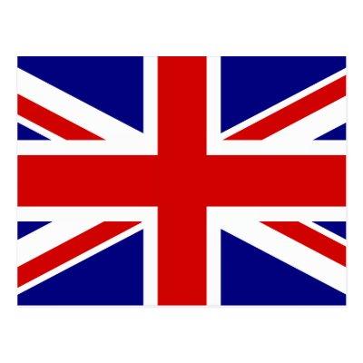 London England Flag Postcard Zazzleca - Flag of england