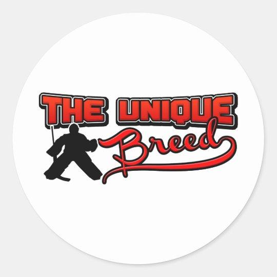 The Unique Breed Classic Round Sticker