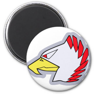 The unit mark emblem of 204SQ (F-15) 2 Inch Round Magnet
