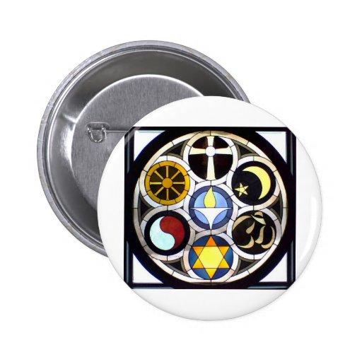 The Unitarian Universalist Church Rockford, IL Pinback Button