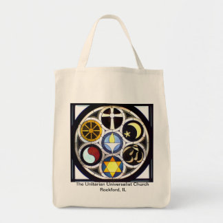 The Unitarian Universalist Church Rockford, IL Grocery Tote Bag