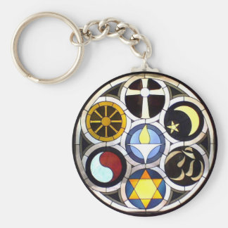 The Unitarian Universalist Church Rockford, IL Keychain