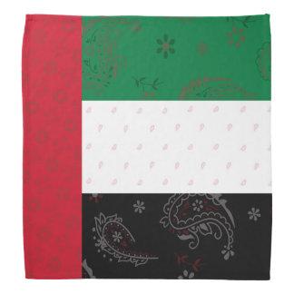The United Arab Emirates Flag Bandana