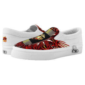 The United States Marine Corps (USMC) Slip-On Sneakers