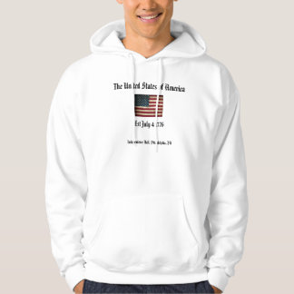 The United States of America 1776 Hoodie