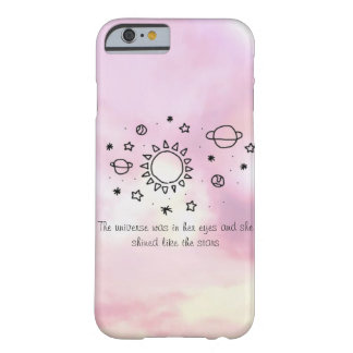 The Universe In Her Eyes iPhone 6/6s Phone Case