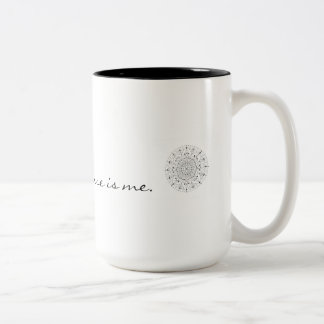 The Universe is Me Two-Tone Coffee Mug