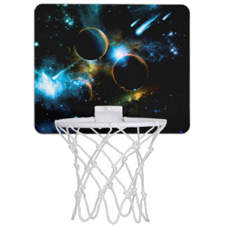 The universe of planets mini basketball hoop