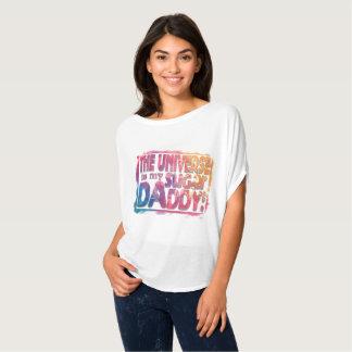 The Universe Provides New Age Original Art T-Shirt