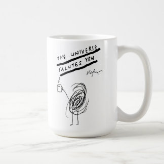 The Universe Salutes You - Victore Coffee Mug