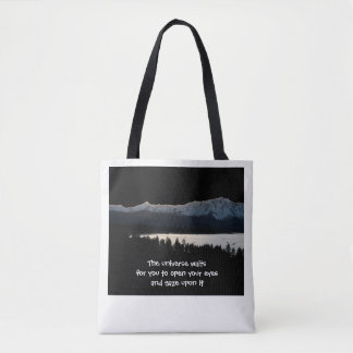 The Universe Waits Tote Bag