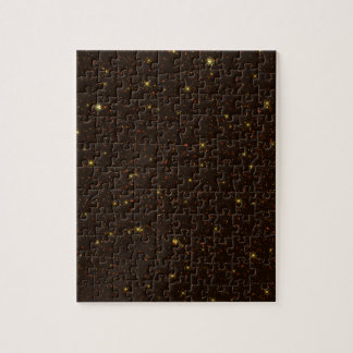 The Universe with Gold and Brown Stars Puzzle