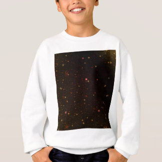 The Universe with Gold Stars Sweatshirt