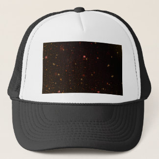 The Universe with Gold Stars Trucker Hat