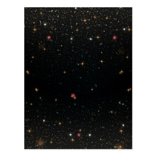 The Universe with Multicolor Stars Postcard
