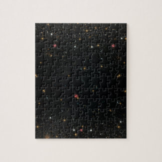 The Universe with Multicolor Stars Puzzle