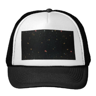 The Universe with Multicolor Stars Trucker Hat