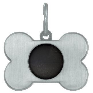The Universe with White Stars Pet Tag