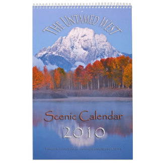 The Untamed West Calendars