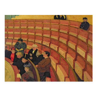The Upper Circle at the Theatre du Chatelet Postcard