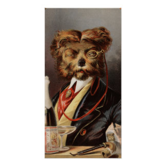 The Upper Class Dog Poster