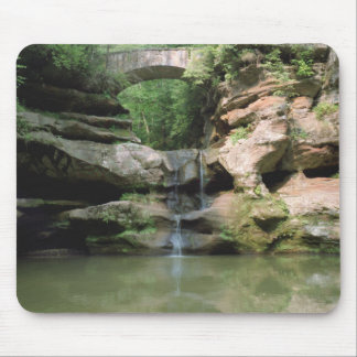 The Upper Falls at Old Man's Cave Mouse Pad