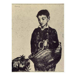 The urchin by Edouard Manet Postcard