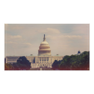 The US Capitol Building Poster