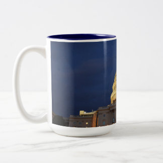 The US Capitol Building Two-Tone Coffee Mug